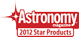 Selected as one of 2012 Astronomy Magazine Products of the year